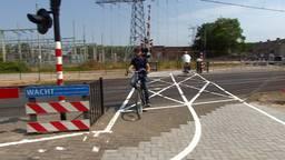De beruchte spoorwegovergang bij Orthen in Den Bosch wordt mogelijk ondertunneld