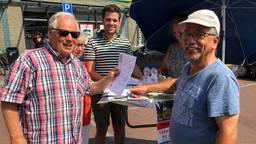Raadsleden Loon op Zand zamelen handtekeningen in tegen de gaswinning