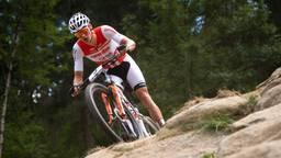 Mathieu van der Poel op de mountainbike (foto: VI Images).