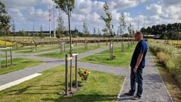 Het herdenkingsbos in Vijfhuizen