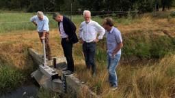 Inspectie van droge gebieden in Brabant