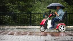 Regen in Geldrop. (Foto: Rob Engelaar)