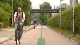 Een Tilburgs slim fietspad
