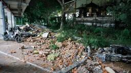 Lombok na de aardbeving Foto:ANP