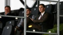 Kakhi Jordania op de tribune bij FC Den Bosch (Archieffoto: HollandseHoogte).
