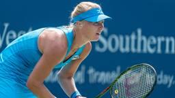 Kiki Bertens is een outsider voor de US Open-winst (foto: VI Images).