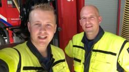 Richard en Rick zijn de eerste brandweervloggers in Nederland (Foto: Erik Peeters)