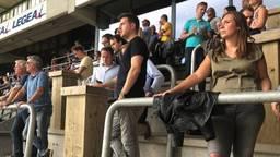 De nieuwe staantribune bij NAC Breda
