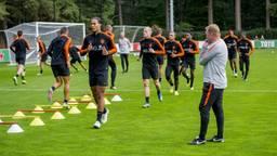 Oranje bereidt zich voor op de komende twee interlands (foto: VI Images).