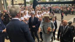 Halverwege de middag arriveerde Koningin Maximá