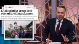 80% van de huidige bewoners van de Efteling is volgens het satirische programma Zondag met Lubach tegen uitbreiding.