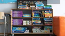 Een basisschoollokaal (archieffoto: Kevin Cordewener).