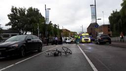 Het ongeluk gebeurde op de Vestdijk. (Foto: SQ Vision)
