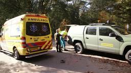 Het ongeluk vond plaats bij de Oirschotse Heide. (Foto: Berry van Gaal/SQ Vision)