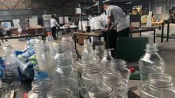 In Eindhoven wordt druk gewerkt aan het recyclen van plastic