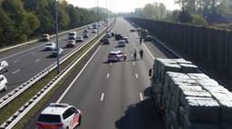 De situatie direct na het ongeluk in Boxtel (foto: Sander van Gils/SQ Vision Mediaprodukties).