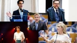 En dat is vijf! Maken Brabantse fractievoorzitters Nederland extra gezellig? (Foto: ANP)
