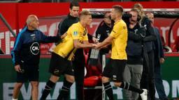 De eerste minuten van Sydney van Hooijdonk in het shirt van NAC (foto: VI Images).