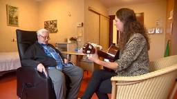 Bart Meulemans krijgt muziektherapie in plaats van een pilletje om hem rustig te maken