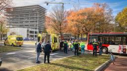 Ambulances waren snel ter plekke (foto: Sem van Rijssel/SQ Vision Mediaprodukties.)