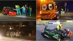 Dodelijke ongelukken in Brabant