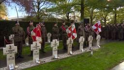 De gesneuvelde Poolse militairen werden herdacht.