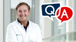 Vragen over prostaatkanker? Stel ze aan uroloog Eric Vrijhof van het Catharina Kanker Instituut in Eindhoven.