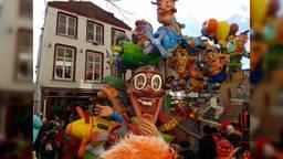 De optocht trok afgelopen carnaval voor het laatst over de Haagdijk. (Foto: Marrie Meeuwsen)
