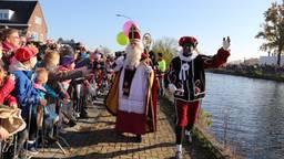 De intocht van Sinterklaas in Eindhoven vorig jaar. (Foto: Karin Kamp)