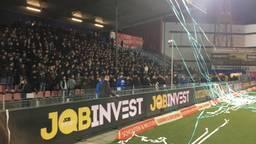 De heropende Oosttribune van FC Den Bosch. (Foto: Florian van Veldhoven)