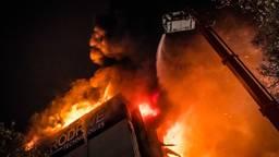 Brand bij Prodrive (Foto: Rob Engelaar)