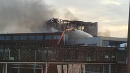 Weinig van het gebouw over (foto: Ronnie Vermonden)