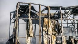 Stuk van het dak van Prodrive bijna volledig gesmolten (Foto: Sem van Rijssel)