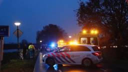 Op den Berg werd na het ongeval tijdelijk afgesloten. Foto: SK-Media.