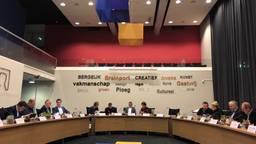 De gemeenteraad Bergeijk praat over de Zwarte Bergen (foto: René van Hoof).