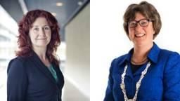 Renate Richters (links) en Wobine Buijs-Glaudemans (rechts) maken kans om de beste lokale bestuurder van Nederland te worden.