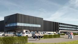 Het nieuwe distributiecentrum van MediaMarkt (beeld: Heylen Warehouses)