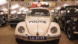 Politie Oldtimer die onder andere is gebruikt in de Tv-serie Baantjer (foto: Kevin Cordewener)