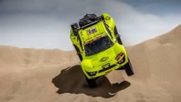 Michiel Becx in betere tijden tijdens zijn Dakar in Peru (foto: MCH Photo)