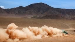 Ton van Genugten voor Team de Rooy in actie tijdens de Dakar Rally van 2019 (foto: Willy Weyens).