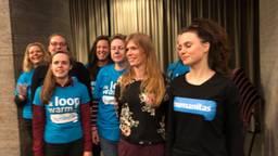 Vrijwilligers van Humanitas bij de hoorzitting in Eindhoven