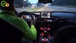 Rapper Boef reed met 300 kilometer per uur door Tilburg. (Archiefbeeld: Dumpert)