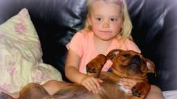 Isabelle en hond Hugo