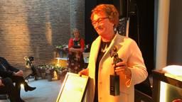 Burgemeester Wobine Buijs is 'beste lokale bestuurder'. (Foto: Tom van den Oetelaar)
