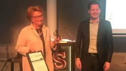 Burgemeester Wobine Buijs is 'beste lokale bestuurder'.