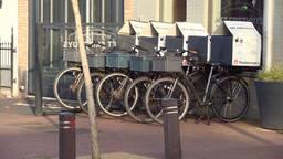 Vooral koeriers die maaltijden bezorgen met de fiets zijn kwetsbaar