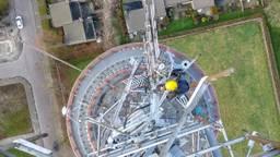De zendertoren van Omroep Brabant in Roosendaal (foto: Broadcast Partners).