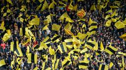 NAC-supporters in het Rat Verlegh Stadion (foto: VI Images).