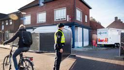 Het pand in Enschede waar de vier doden zijn gevonden (Foto: ANP)