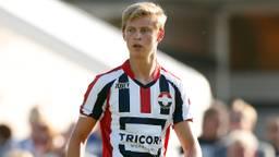Frenkie de Jong in zijn Willem II-tijd (foto: VI Images).